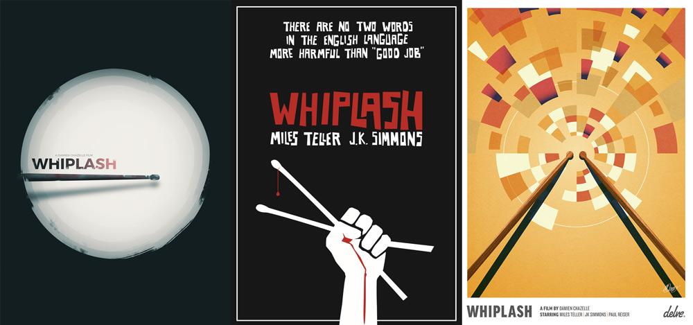 Cartazes feitos por artistas que se inspiraram no filme
